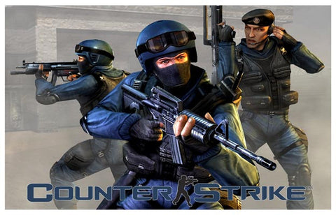 Counter-Strike Valve Corp Video Game 11x17 Poster