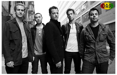 O.A.R. OAR Of A Revolution Band Portrait 11x17 Poster