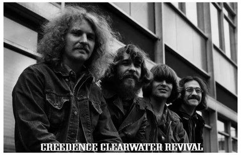 Creedence Clearwater Revival Band Poster