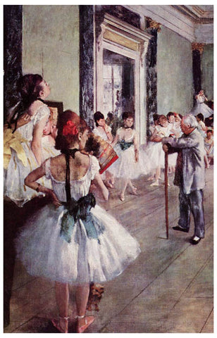 Edgar Degas The Dance Class Art Ballet 11x17 Poster