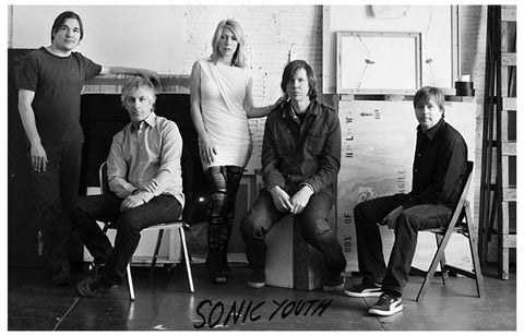 Sonic Youth Band Poster