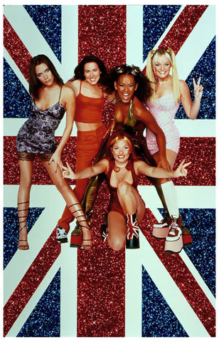 Spice Girls Union Jack Poster