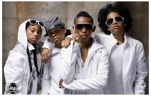 Mindless Behavior MB #1 Girl Band Shot 11x17 Poster