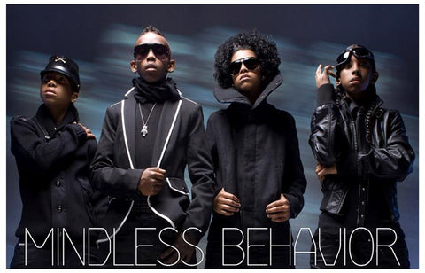 Mindless Behavior Boy Band Group Shot 11x17 Poster