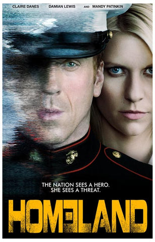 Homeland Hero or Threat? Claire Daines 11x17 Poster