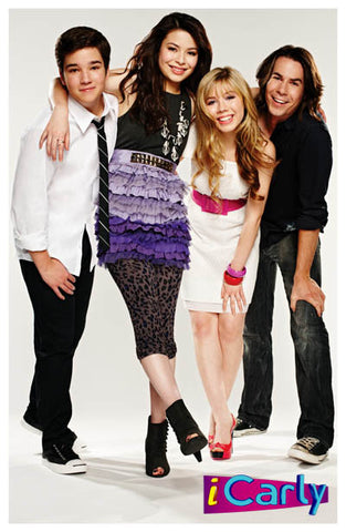 iCarly Cast Carly Sam Freddie Spencer 11x17 Poster