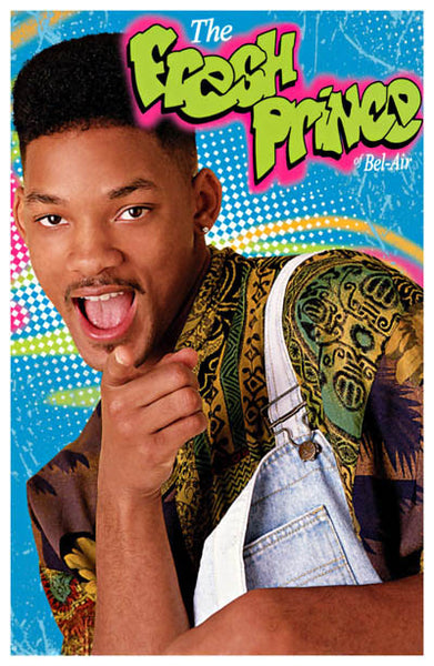 The Fresh Prince of Bel-Air Will Smith Poster 11x17 – BananaRoad