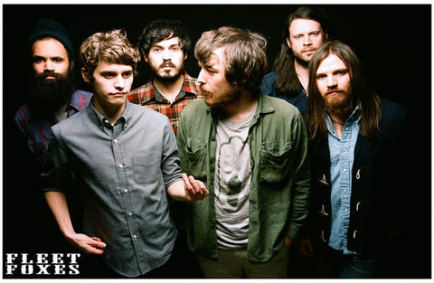 The Fleet Foxes Group Robin Pecknold 11x17 Poster