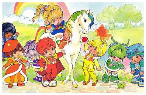 Rainbow Brite Cartoon Poster