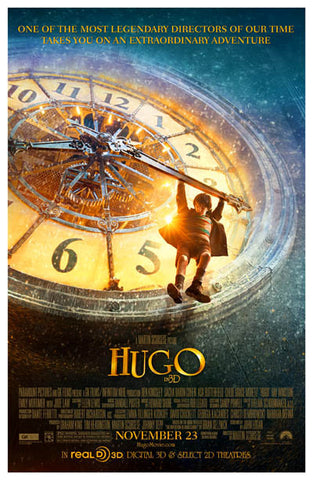 Hugo Movie Poster 11x17