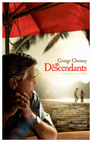 The Descendants Clooney Alexander Payne 11x17 Poster