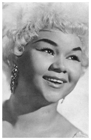 Etta James Portrait Poster