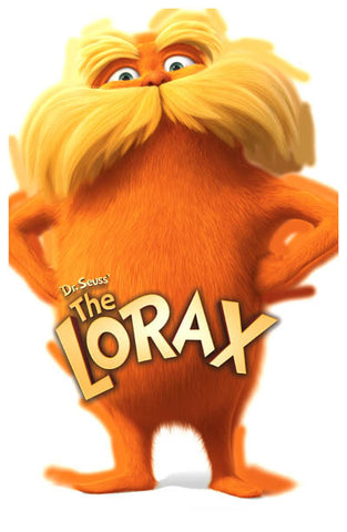 The Lorax Dr Seuss Film Danny DeVito 11x17 Poster