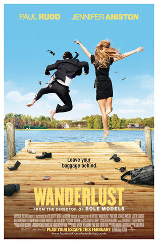 Wanderlust Leave Your Baggage Rudd Aniston 11x17 Poster