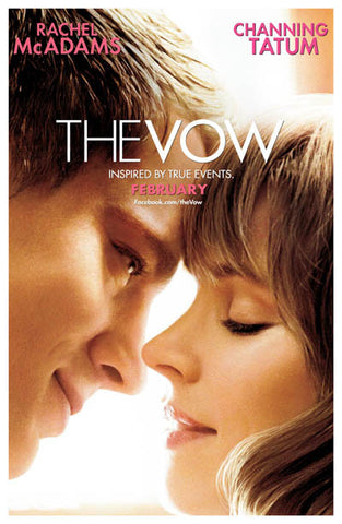 The Vow Channing Tatum Rachel McAdams 11x17 Poster