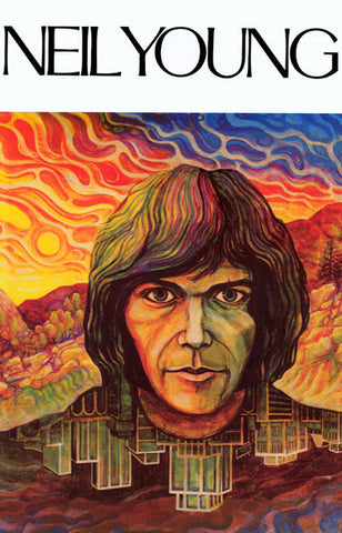 Neil Young Portrait Poster