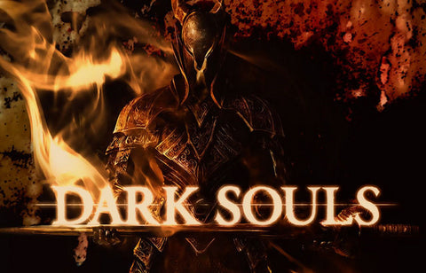 Dark Souls Fire of Lords Video Game 11x17 Poster