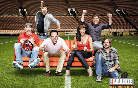 The League Armchair Quarterback Cast 11x17 Poster