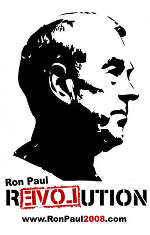 Ron Paul RevolUTION Campaign 11x17 Poster