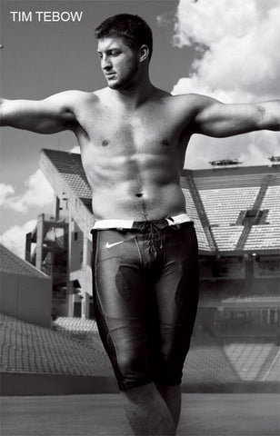 Tim Tebow Portrait Poster