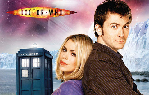 Doctor Who 10th Doctor David Tennant 11x17 Poster