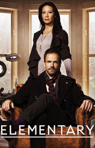 Elementary Holmes and Watson TV Show 11x17 Poster