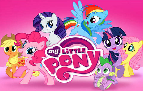 My Little Pony Friendship Cartoon Poster