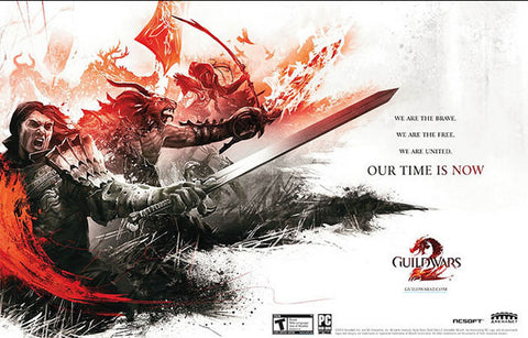 Guild Wars 2 Video Game Our Time Is Now 11x17 Poster