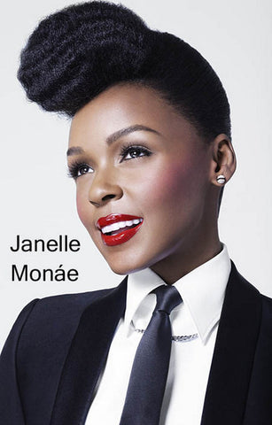 Janelle Monae The Electric Lady Portrait 11x17 Poster