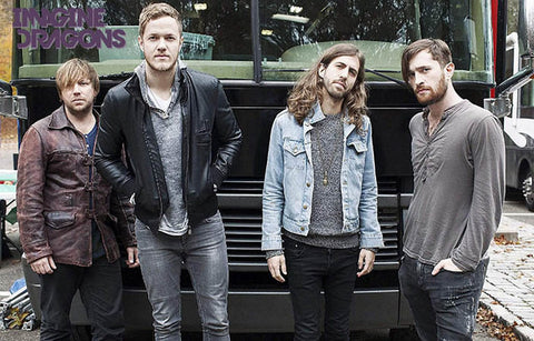 Imagine Dragons On the Road Band Shot 11x17 Poster