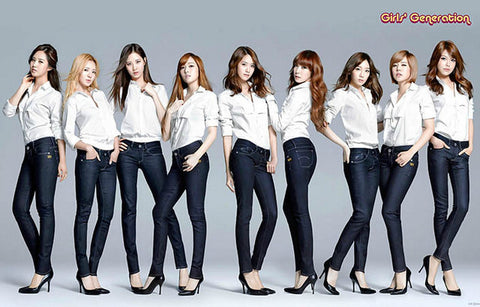 Girls Generation Group South Korea 11x17 Poster