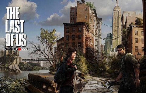 The Last of Us Video Game Joel and Ellie 11x17 Poster