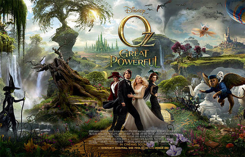 Oz the Great and Powerful Cast James Franco 11x17 Postr
