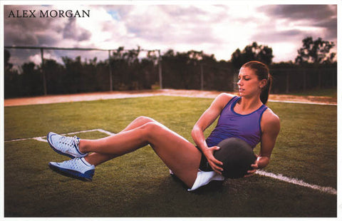 Alex Morgan Soccer Poster