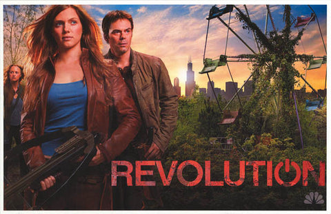 Revolution Miles Charlie Maggie NBC TV 11x17 Poster