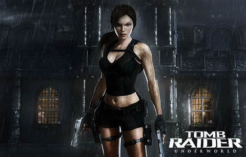 Tomb Raider Laura Croft Poster