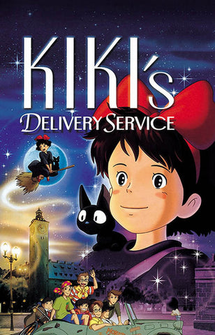 Kiki's Delivery Service Movie Poster