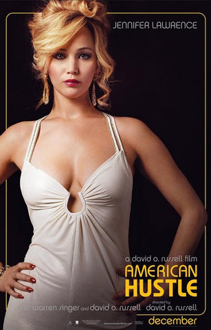American Hustle Rosalyn Jennifer Lawrence Poster 11x17