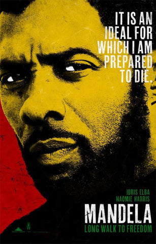 Nelson Mandela Long Walk to Freedom Idris Elba Poster 11x17