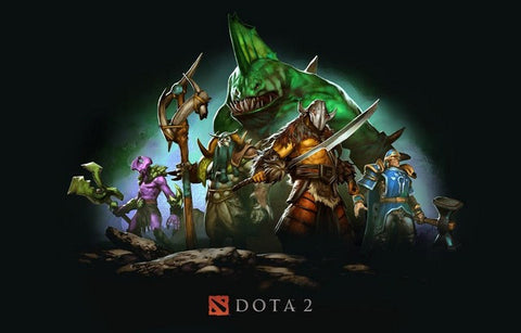 DotA 2 The Creeps Defense of the Ancients Poster 11x17