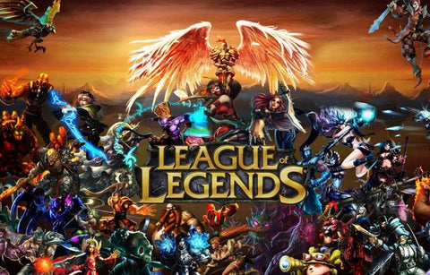 League of Legends Video Game Poster