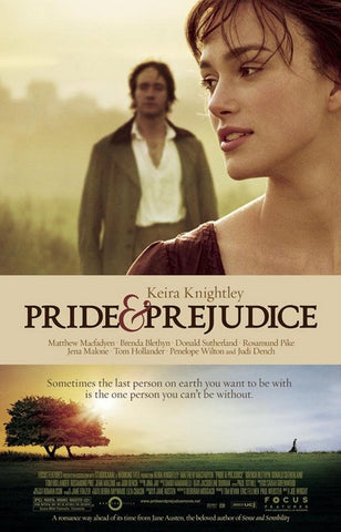 Pride and Prejudice Keira Knightley Poster 11x17
