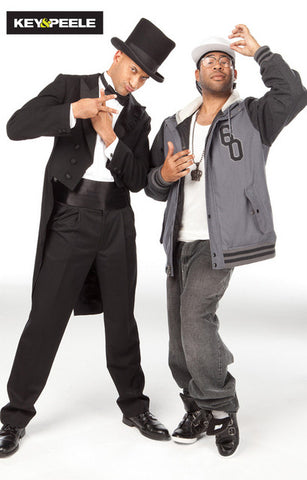 Key and Peele Dress Casual Comedy Central TV Poster 11x17