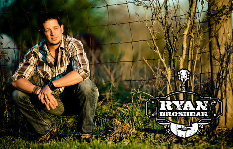 Ryan Broshear Let Your Redneck Out Candid Portrait Poster 11x17