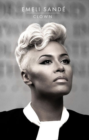 Emeli Sande Portrait Clown Music Poster 11x17