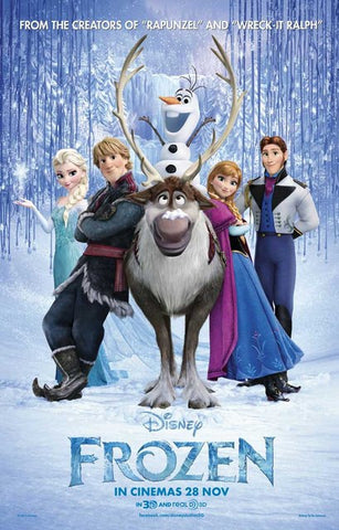 Frozen Disney Movie Poster