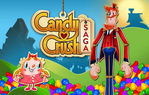 Candy Crush Saga Puzzle Video Game Poster 11x17