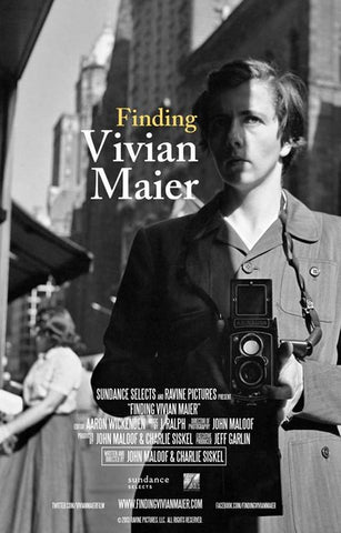 Finding Vivian Maier Documentary Film Poster 11x17