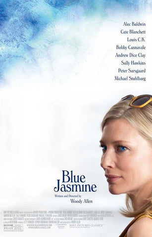 Blue Jasmine Woody Allen Movie Poster