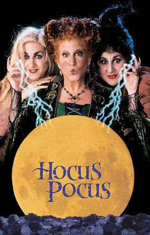 Hocus Pocus Sanderson Sisters Horror Comedy Film Poster 11x17
